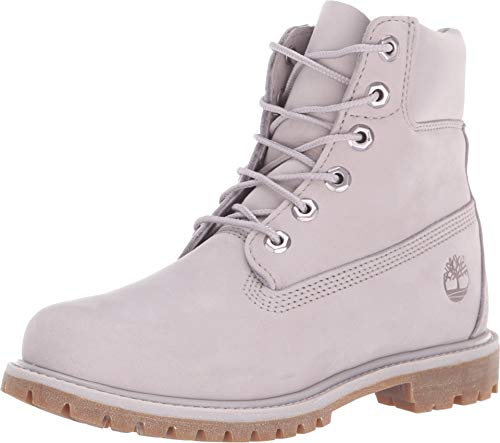 Timberland Women's 6-inch Premium Waterproof Boots, Durable Leather Uppers with Padded Collar for Added Comfort (Womens Timberland Stiefel Arbeit)