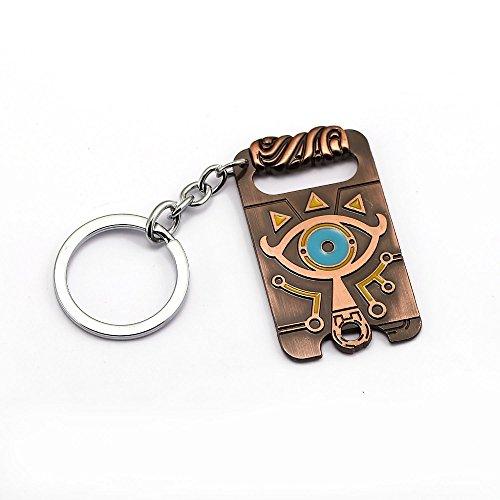 Preisvergleich Produktbild The Legend of Zelda - Sheikah Stone - Halskette | 100% Metall | Breath of the Wild