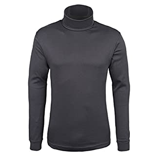 Mountain Warehouse Meribel Mens Thermal Baselayer Top - Combed Cotton Sweater, Roll Neck Jumper, Breathable, Quick Drying & Fitted Sleeves - for Everyday Winter Use 9