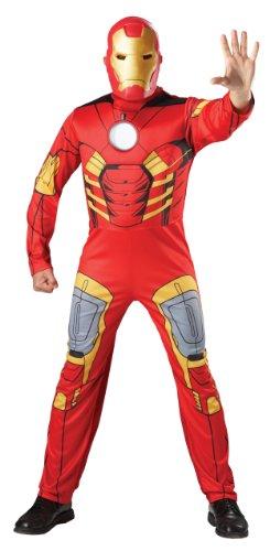 Imagen de avengers  disfraz de iron man musculoso, para adulto rubie's 880945