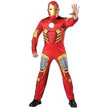 Avengers - Disfraz de Iron Man musculoso, para adulto (Rubie's 880945)