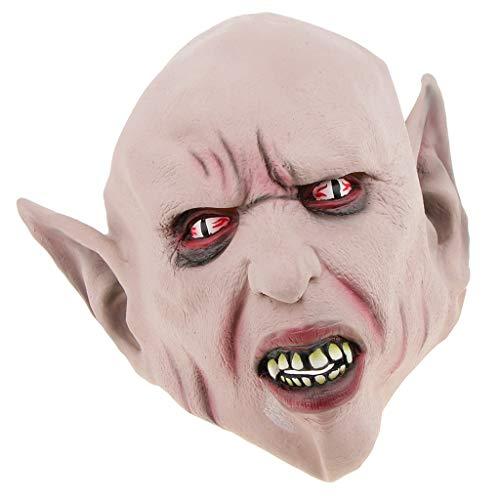 Unbekannt MagiDeal Horror Alien Teufel Cosplay Maske Kostüm Zubehör für Halloween Karneval und Kostümparty