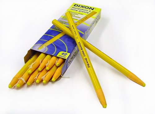 dixon-73-china-markers-yellow-pack-of-12