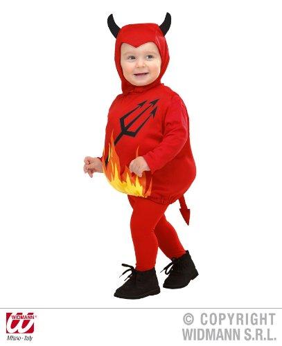 KINDERKOSTÜM - TEUFEL - 1-3 (Jungen Halloween Für Kostüme Teufel)