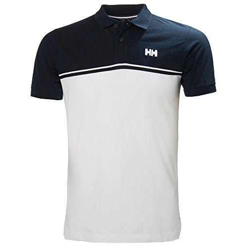 Blue Knit Polo Shirt (Helly Hansen Herren Salt Polo Poloshirt, Blau (Azul/Blanco 597), XX-Large (Herstellergröße: 2XL))
