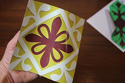 Multi pack 1 piastrelle adesive per cucina e bagno tile style