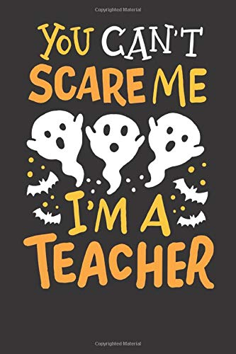 tebook: Halloween Pre-K Preschool Math English Science Teacher Gift 6x9 College Ruled 120 Pages Student Teacher School ()