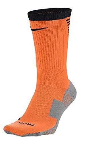 Nike Squad Crew Sock - Stutzen Fußballsocken - SX5345-803 orange, Größe:34-38