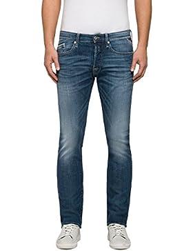 Replay Herren Straight Jeans Waitom