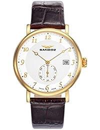 Reloj Suizo Sandoz Hombre 81431-95 Antique