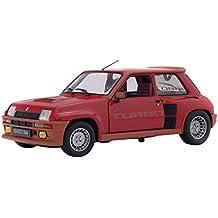 Solido 421184270 Renault R5 Turbo 1, 1982, Rojo, Modelo en Miniatura (Escala