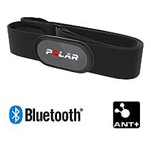 Polar H9 Sensore di Frequenza Cardiaca - Ant+ / Bluetooth, Sensore di FC Impermeabile con Fascia Toracica Morbida per Palestra, Ciclismo, Corsa, attività Sportive all'Aperto, Nero, S