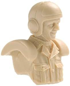 Ma.K.Buste pilote Strahl armee hommes (B) (1 / 20 de resine echelle moulee Kit) (Import Japonais)