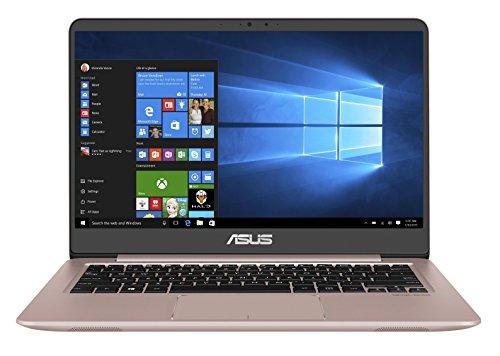 Asus Zenbook UX3410UQ-GV999T 35,56 cm (14 Zoll FHD matt) Laptop (Intel Core i5-7200U, 8GB RAM, 256GB SSD, 1TB HDD, NVIDIA GeForce 940MX, Win10) rose - Asus 8gb Ram Notebooks