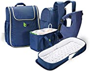 Bergo baby carrier   Ergonomic breathable   4-in-1 Baby Carrier, Bed, Changing Station and Diaper Bag