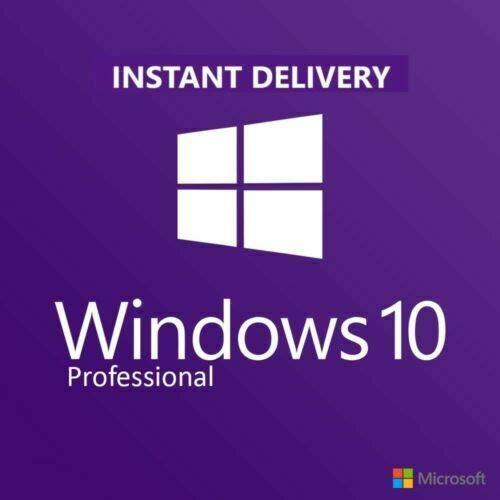 Windows 10 Pro 32 Bit & 64 Bit | Key-Produkt+ Anleitung zum Herunterladen | Versand per E-Mail