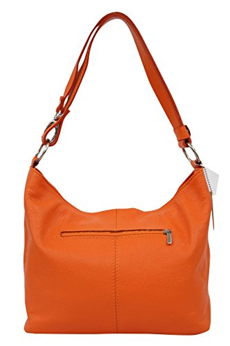 AMBRA Moda, Borsa a spalla donna M Orange