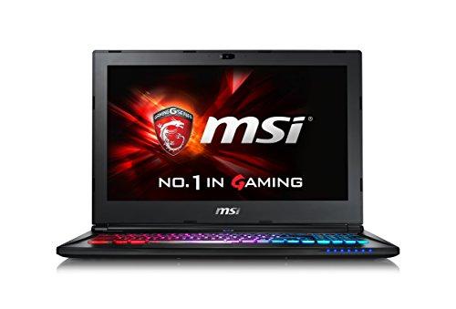 MSI GS60-6QE4K16H21 Gaming Notebook mit i7-6700HQ GTX970M 256GB SSD 4K Display Windows® 10 - N/A