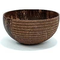 comboo – Jumbo Coconut Bowl Classic I Original Cuenco de Coco I Buda Bowl I Pulido I 100% Natural & Hecho a Mano