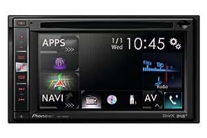 Pioneer AVIC-F960DAB Navigatore 2 DIN, 6.1 Pollici, Tastiera Estraibile Antifurto, AM/FM, Nero
