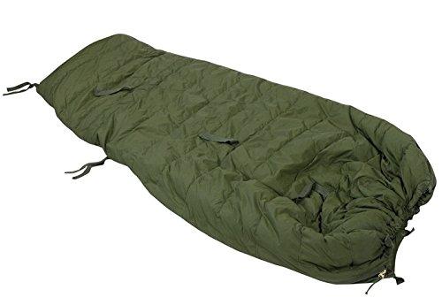 BW Schlafsack Winter 3-TLG Oliv Gebraucht, -30 Grad