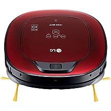 LG VR8602RR Hombot Turbo Serie 9 - Robot aspirador programable con doble cámara, para casas