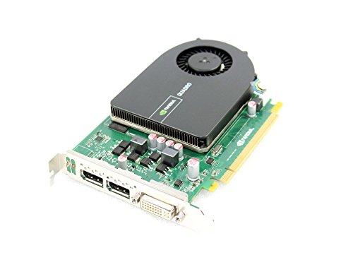 Dell GGMPW NVIDIA Quadro 20001GB GDDR5PCI-E Grafikkarte Dual Display Port DVI - Dell Grafikkarte