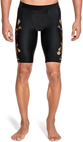 Skins, A400, Pantaloni aderenti sportivi sportivi sportivi a mezza gamba Uomo, oro (oro), S   La Vendita Calda    Italia  6bab9a
