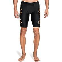 Skins, A400, Pantaloni aderenti sportivi a mezza gamba Uomo, Oro (Gold), M