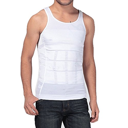 0f806e2ff337e Nilover Tank Men Body Slimming Tummy Shaper Vest Belly Underwear shapewear  Girdle Shirt Elastic Body Sculpting