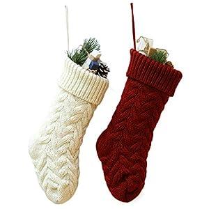 JaosWish Calcetines de Navidad de