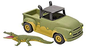Wild Republic Europe 20945 Wild Republic Adventure Truck Croc, Hot Rod, Regalos para niños, 40 cm, Multi