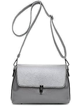 Hochwertige Einfach Stil Damen Cross-body Taschen Top-Griff Tasche Kleine Handtaschen Baguettes