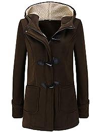 b6f7adb467321 Cappotto con Cappuccio da Donna Cappotto Maniche Abbigliamento A Lungo  Lunghe Cappotto Lungo Cappotto Lungo Elegante