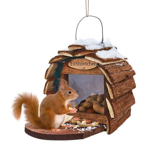 Unbekannt Vogelhaus für Eichhörnchen Vogelhäuschen Vogelfutterhaus Futterhaus Häuschen
