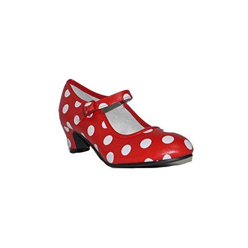 BUBBLE BOBBLE SEVILLANA Lunares B119 Zapatos Niñas