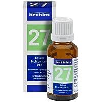 Schuessler Globuli Nr. 27 - Kalium bichrom. D12 - gluten- und laktosefrei preisvergleich bei billige-tabletten.eu