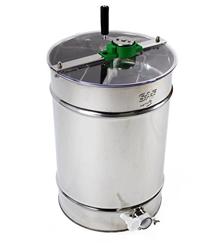 Stainless steel Honey Extractor (Manual 4 frame) from Easipet (00127A) 7