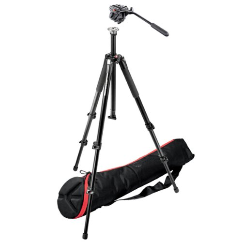Manfrotto 701HDV,055XBK Professional Video Kit