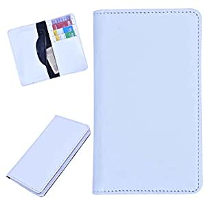 DCR Pu Leather case cover for Blu Studio 5.0 S (white)