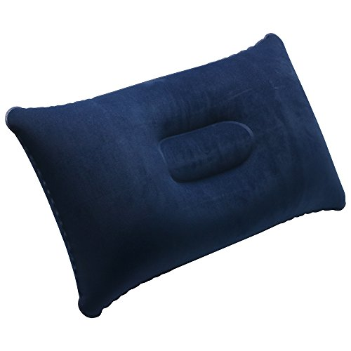 41mHdwR7kgL. SS500  - TRIXES Inflatable Pillow For Travel or Camping - Blow up Pillow -Twin Pack