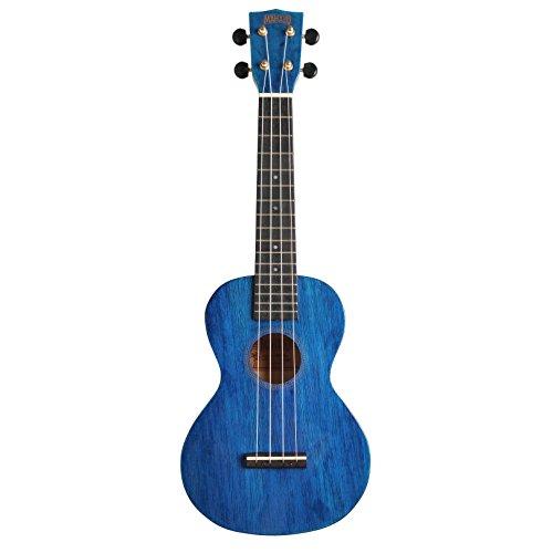 Mahalo Hano Concert 2 Trans - Ukelele, colore: blu