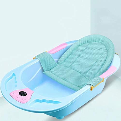 ltyg Baby Badewanne elektronische Temperatur Badewanne Neugeborenen Bad Lieferungen Kinder Kinder Badewanne können 90 * 50 * 23 cm sitzen