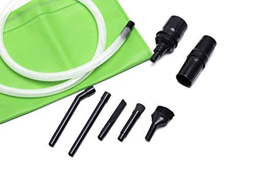 dustybrush Universal Mikrodüsenset für Staubsauger, 8-teilig (32-35 mm). Original Green Label Produkt