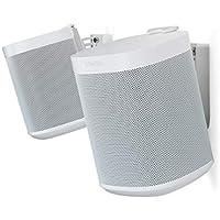 Flexson Wandhalterung für Sonos One und Sonos PLAY:1 - Paar Weiß