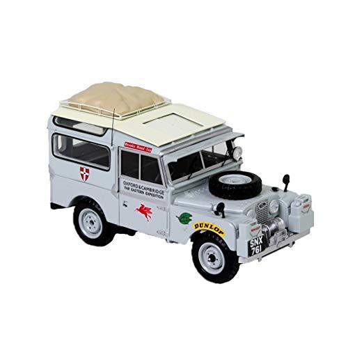 GAOQUN-TOY 1: 43Land Rover Guardian 90 Voiture De Police Carabine Modèle De Voiture De Cavalerie (Couleur : Gray, Taille : 11.5cm*5.5cm*4.5cm)
