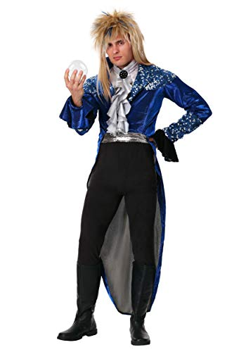 Labyrinth Deluxe Jareth Adult Fancy Dress Costume Large