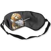 Eye Mask Eyeshade Closeup Snails Sleeping Mask Blindfold Eyepatch Adjustable Head Strap preisvergleich bei billige-tabletten.eu
