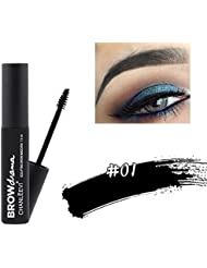 Etosell Maquillage Longue Duree Sourcils Gel Eye Brow Mascara Crayon Brosse