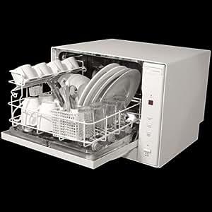igenix 4 place counter top dishwasher white. Black Bedroom Furniture Sets. Home Design Ideas